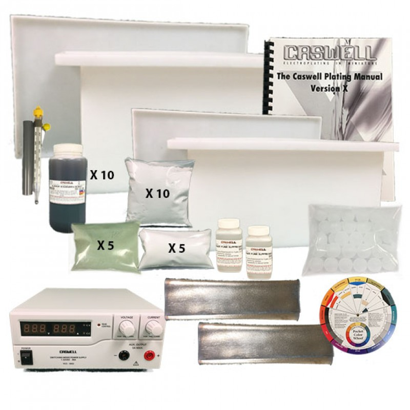 LCD Aluminum Anodizing Kits - Standard & Deluxe - Caswell ...