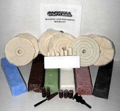 Handheld Drill Buffing Kit