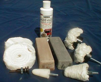 Aluminum & Copper Alloy Polishing Kit
