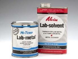 High Temp Lab Metal 14 oz & 1 Pint Solvent (LQ#40)