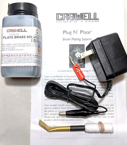 Plug N' Plate Brass Kit