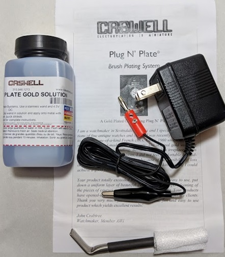 Plug N' Plate Gold Kit