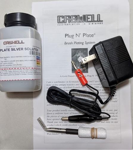 Plug N' Plate Silver Kit