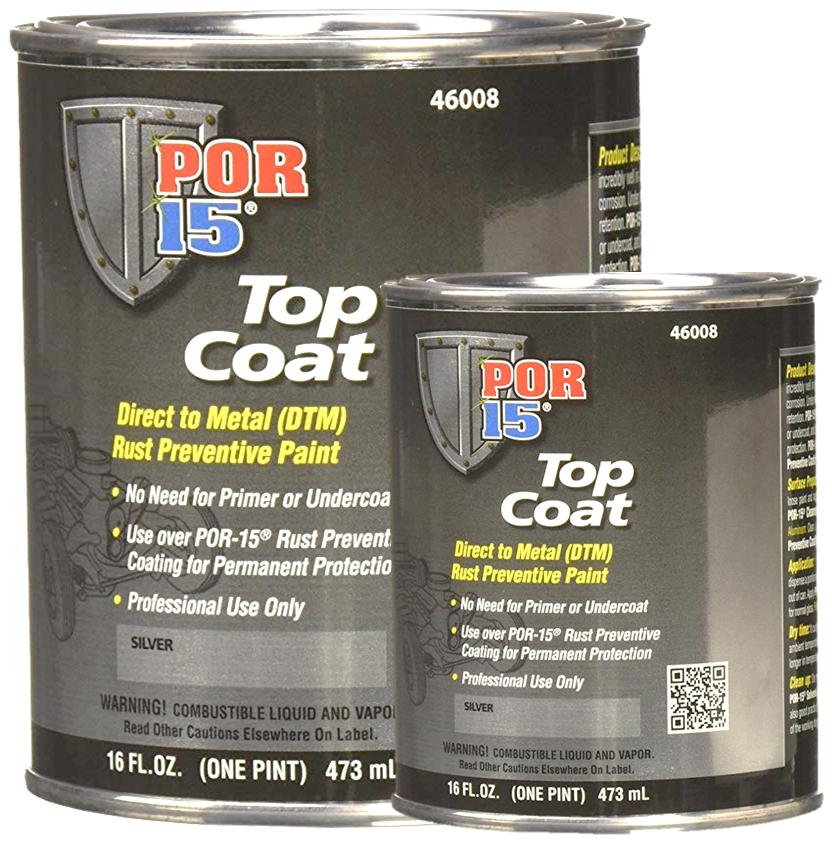 POR-15 Top Coat Silver