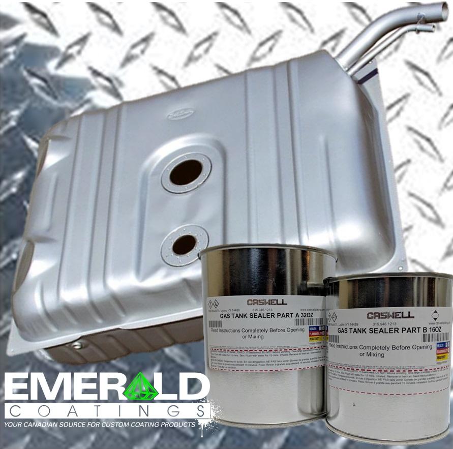 Car Epoxy Gas Tank Sealer (Clear)