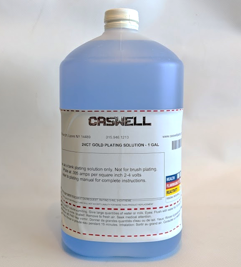 24ct Gold Plating Solution