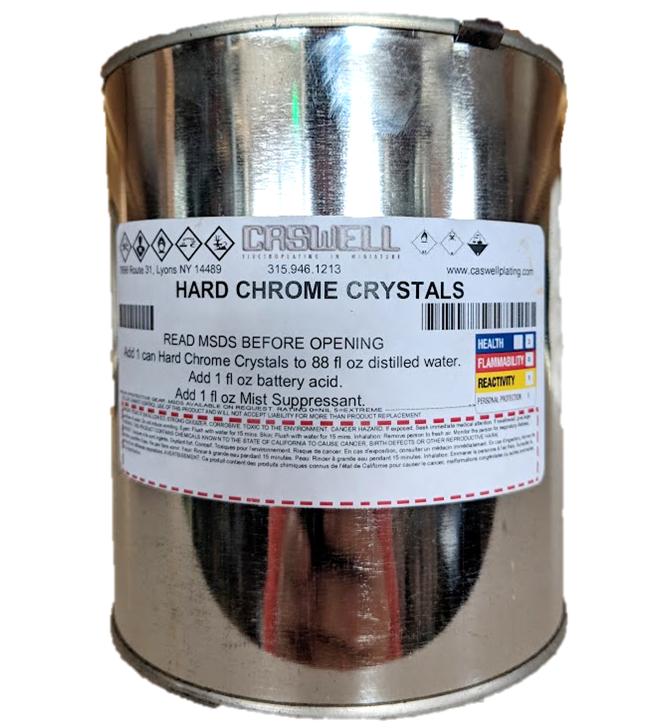 Hard Chrome Crystals - makes 1 gal.