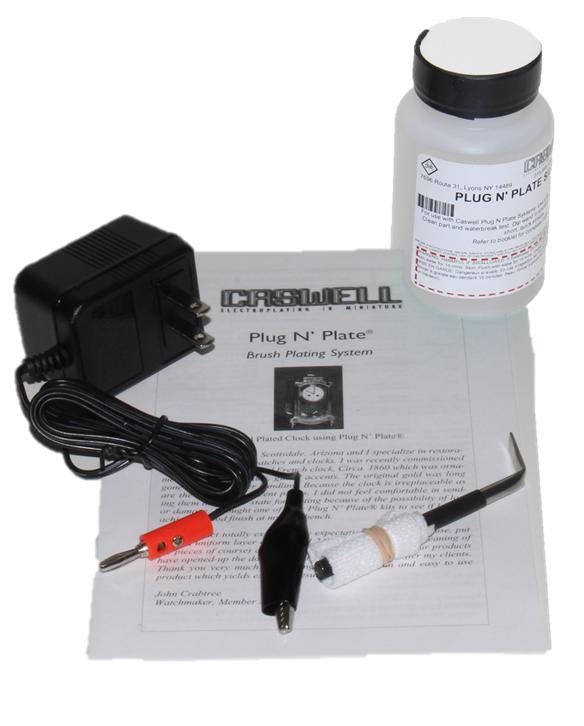 Plug N' Plate Nickel Kit