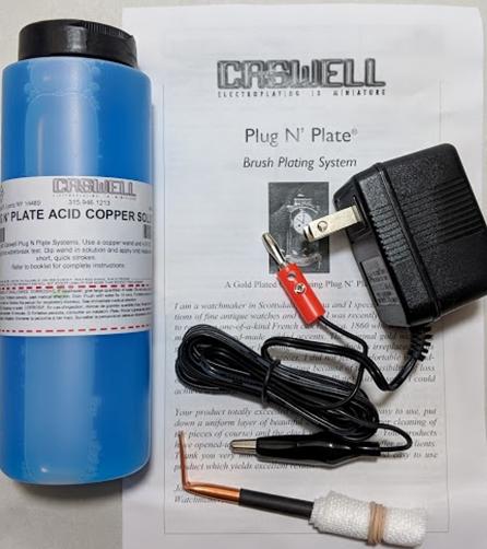 Plug N' Plate® Acid Copper Kit