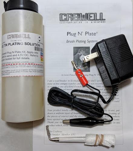Plug N' Plate Tin Kit