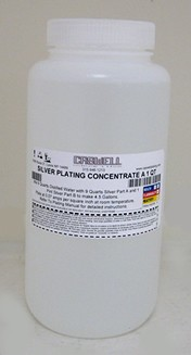 Silver Plating Solution Part A - 1 Qt