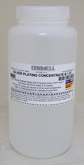 Silver Plating Solution Part B - 1 Qt