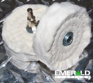 Spiral Sewn Shank mount wheel 4″