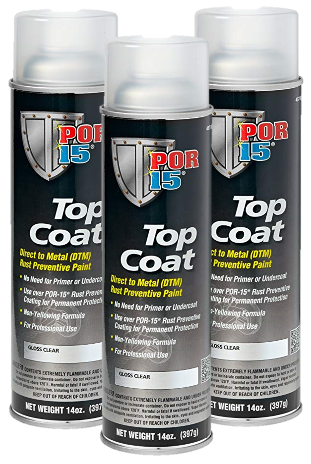 POR-15® Top Coat Clear