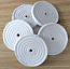 "Spiral sewn 5"" x 1/2"" wheel (5 pack)"