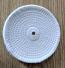 "Spiral sewn 6"" x 1/4"" wheel"