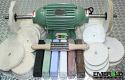 3/4 hp 3450 rpm Buffing Machine Deluxe Kit