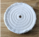 "Spiral sewn 5"" x 1/2"" wheel"