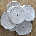 "Spiral sewn 5"" x 1/4"" wheel (10 pack)"