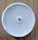 "Spiral sewn 5"" x 1/4"" wheel"