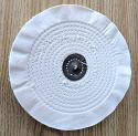 "Spiral sewn 8"" x 1/4"" wheel"