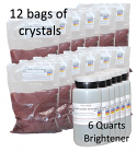 Copy Chrome Crystals w brightener (20 gallon kit)