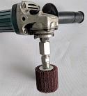 Flapper Adapter (Angle Grinder Chuck)