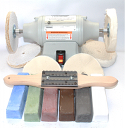 1/3 hp 3450 rpm Buffing Machine Deluxe Kit