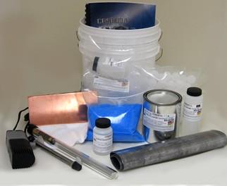 Copper/Chrome Combo Kit