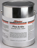 Flex-A-Glu Polishing Wheel Cement