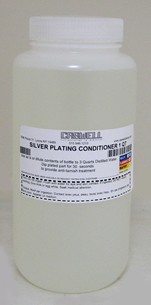 Silver Plating Solution Conditioner - 1 Qt.