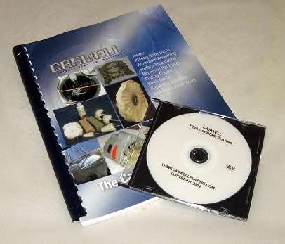 Plating DVD & Manual