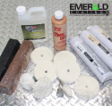 Aluminum Wheel Finishing and Polishing Kit